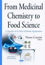 From Medicinal Chemistry to Food Science: A Transfer of in Silico Methods Applications