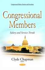 Congressional Members: Salary & Service Trends