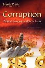 Corruption: Political, Economic & Social Issues