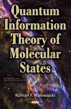 Quantum Information Theory of Molecular States