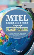 MTEL English as a Second Language (54) Flash Cards