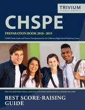 Chspe Preparation Book 2018-2019