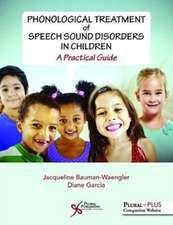 PHONOLOGICAL TREATMENT OF SPEECH