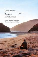 Letters and Other Texts