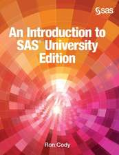 An Introduction to SAS University Edition (Hardcover edition)