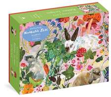 Rabbits 500-Piece Puzzle