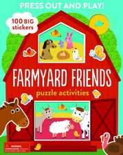 Farmyard Friends: Puzzle Activities