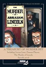 Treasury Of Murder Hardcover Set: Lovers Lane, Famous Players, The Murder Of Lincoln