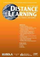 Distance Learning Magazine, Volume 12, Issue 2, 2015