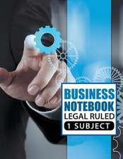 Business Notebook - Legal Ruled 1 Subject