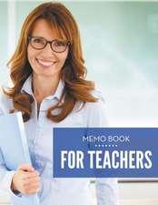 Memo Book for Teachers:  Super Fun Pastime