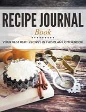 Recipe Journal Book