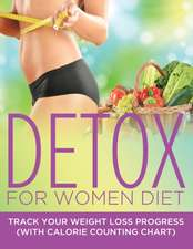 Detox for Women Diet:  Track Your Weight Loss Progress (with Calorie Counting Chart)