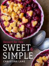Sweet & Simple – Dessert for Two