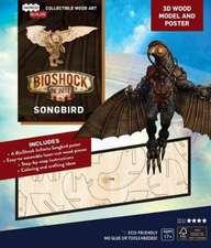 IncrediBuilds: BioShock Infinite: Songbird 3D Wood Model and Poster