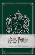 HARRY POTTER: SLYTHERIN HARDCOVER RULED NOTEBOOK