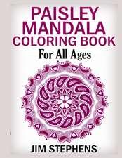 Paisley Mandala Coloring Book