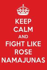 Keep Calm and Fight Like Rose Namajunas: Rose Namajunas Designer Notebook