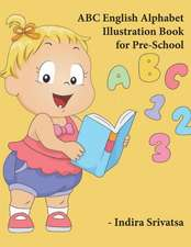 ABC English Alphabet Illustration Book for Pre-School