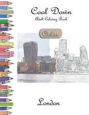 Cool Down [color] - Adult Coloring Book: London