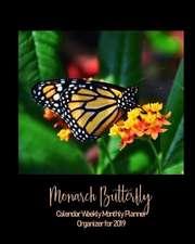 Monarch Butterfly 2019 Planner Weekly Monthly Organizer Calendar