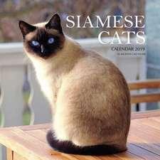 Siamese Cats Calendar 2019: 16 Month Calendar
