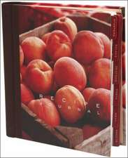 Peach Recipe Journal