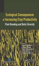 Ecological Consequences of Increasing Crop Productivity