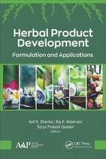 Herbal Product Development