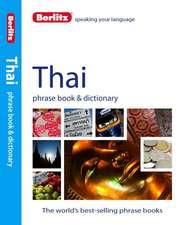 Berlitz Language: Thai Phrase Book & Dictionary