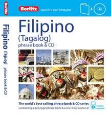 Berlitz Language: Filipino Phrase Book & CD