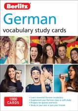 Berlitz Language: German Study Cards