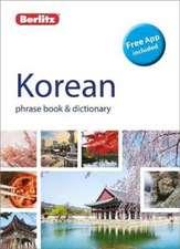 Berlitz Phrase Book & Dictionary Korean