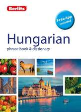 Berlitz Phrasebook & Dictionary Hungarian(bilingual Dictionary)