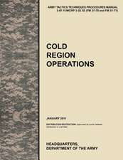 Cold Region Operations