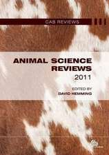 Animal Science Reviews 2011:  Treading the Uncommon Ground of Environmental Beliefs
