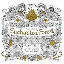 Enchanted Forest: An Inky Quest & Colouring Book