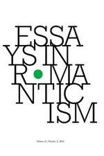 Essays in Romanticism, Volume 21.2 2014:  Haitian Literature and the Earthquake of 2010