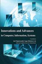 Innovations and Advances in Computer, Information, Systems