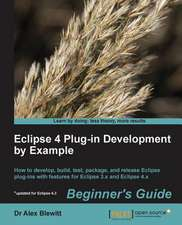 Eclipse Plugin Development by Example