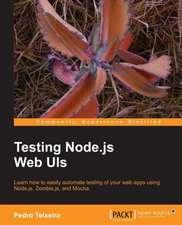 Testing Node.Js Web Uis