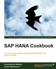 SAP Hana Cookbook:  A Comprehensive Primer
