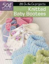 Knitted Baby Booties: 20 On-the-Go projects