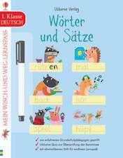 Mein Wisch-und-weg-Lernspaß: Wörter und Sätze