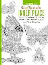 Color Yourself to Inner Peace Postcard Book