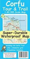Corfu Tour & Trail Super-Durable Map