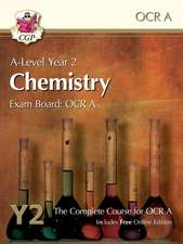New A-Level Chemistry for OCR A: Year 2 Student Book with Online Edition