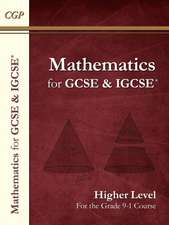 New Maths for GCSE and IGCSE Textbook, Higher (for the Grade 9-1 Course)