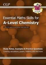 New A-Level Chemistry: Essential Maths Skills