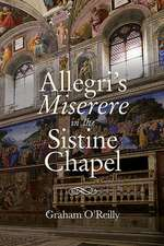 `Allegri`s Miserere` in the Sistine Chapel
